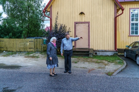 Vi besøker Urmas i Metodistkirken i Haapsalu